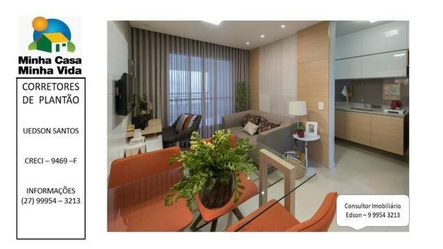 UED-94 - Apartamento 2 quartos com lazer completo em morada de laranjeiras - Foto 10