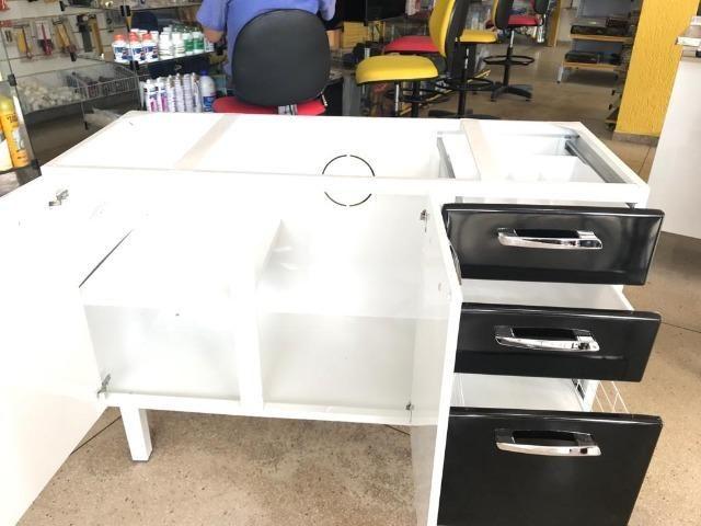 Gabinete HB 1,20 Para Pia de Cozinha Totalmente Organizada e Moderna - Foto 6