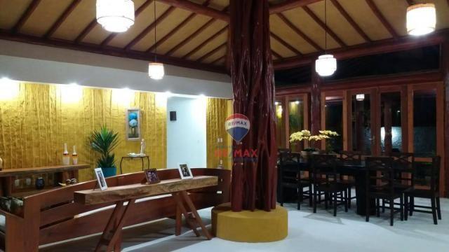 Re/max aluga para temporada casa térreo localizado no distrito de vale verde. - Foto 20