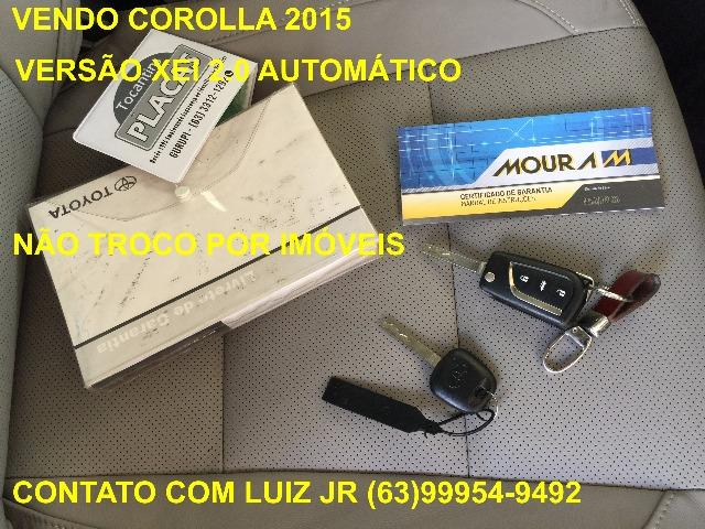 Corolla Xei 2015 - 04 pneus Michelin Zero - Documento pago - Estado de Zero - Foto 3