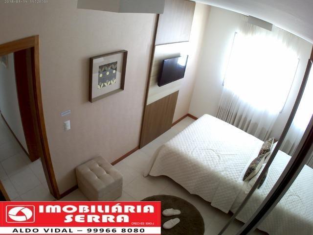 ARV132- Apto com Varanda gourmet, Home Office, 1 ou 2 vagas de garagem, em Colinas. - Foto 12
