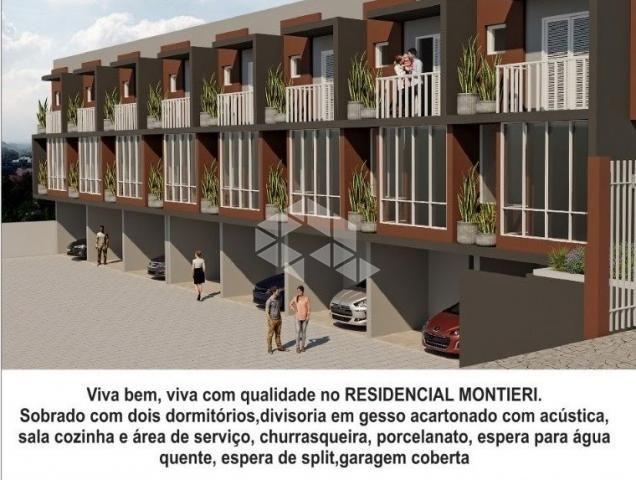 Casa de condomínio à venda com 2 dormitórios em Santa marta, Bento gonçalves cod:9913490 - Foto 2