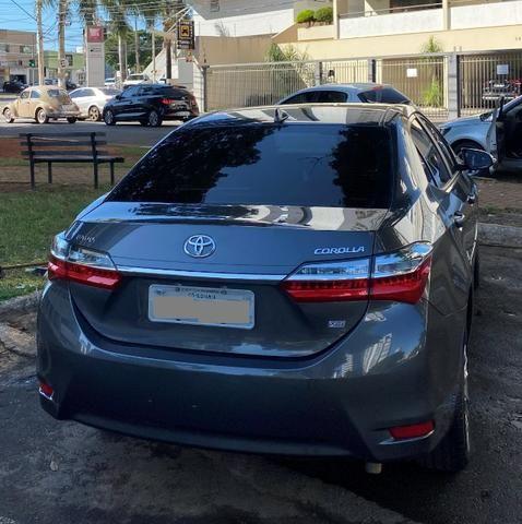 Toyota Corolla 2.0 XEI Cinza 2018/2019 - Novíssimo - Foto 4