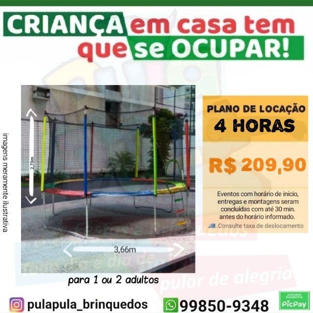 Promoção Aluguel - Tobogã Gigante + Pula Pula 3,66m - Foto 3