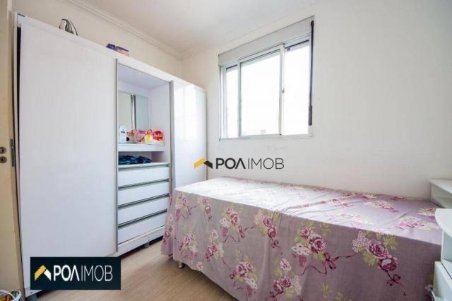 Apartamento com 2 dormitórios para alugar, 54 m² por R$ 1.800,00/mês - Protásio Alves - Po - Foto 6