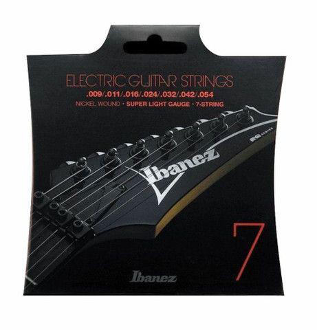 Encordoamento Guitarra 7 cordas Ibanez 0.9