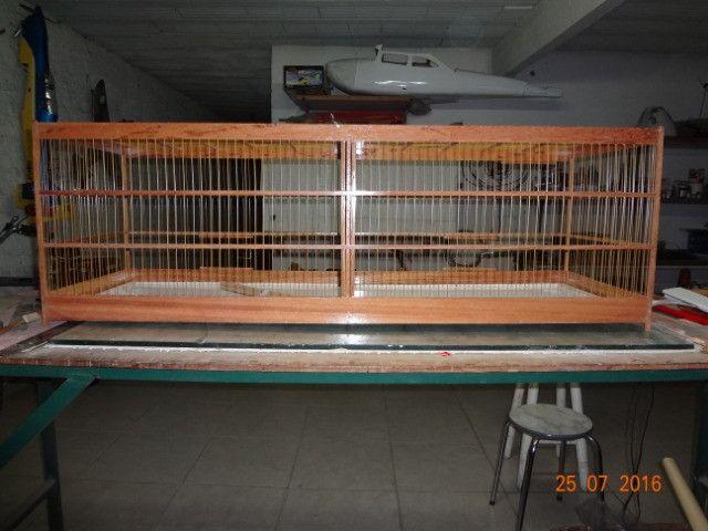 Gaiola 21 x 40 x 70 cm - Foto 2