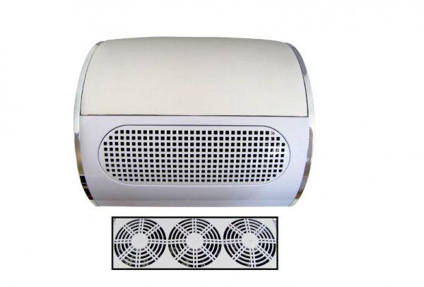 Coletor de pó para unhas com ventilador triplo 858-5 - Foto 4