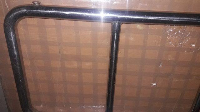 Escada inox basculante para barco