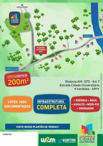 Bairro planejado Cidade Universitária km 7 da Rodovia Manoel Urbano  - Foto 2