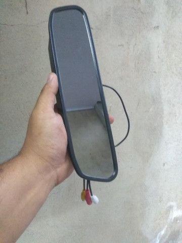Espelho monitor para câmera de ré