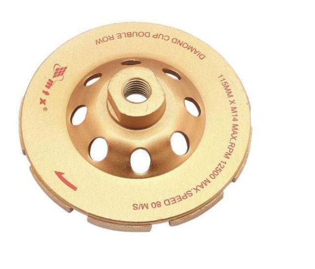 Rebolo Diamantado Segmentado 115mm para Desbaste - MTX-729059
