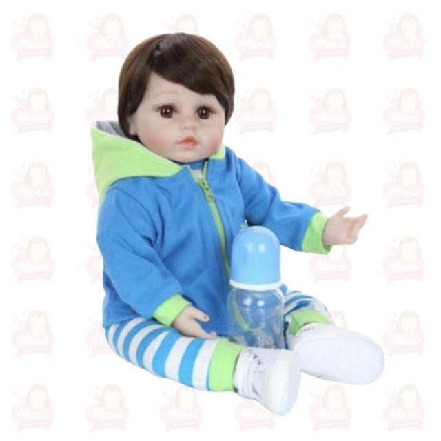 Bebê Reborn menino menininho pronta entrega super fofo - Foto 4