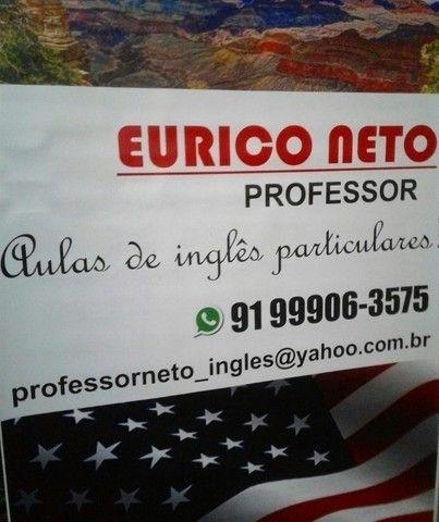 Professor de Português e Inglês