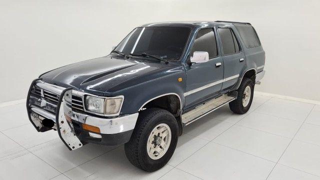 Raríssima Hilux sw4 2.8 4x4 diesel  1994 - Foto 4