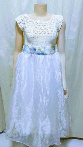 Vestido p/ casamento ( criança ) - Foto 4