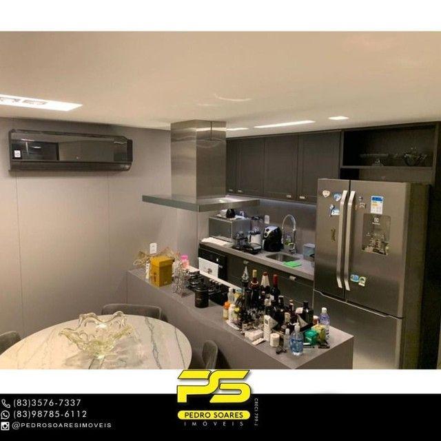 ** PROJETADOS ** Apartamento à venda, 70 m² por R$ 650.000 - Altiplano - João Pessoa/PB - Foto 3