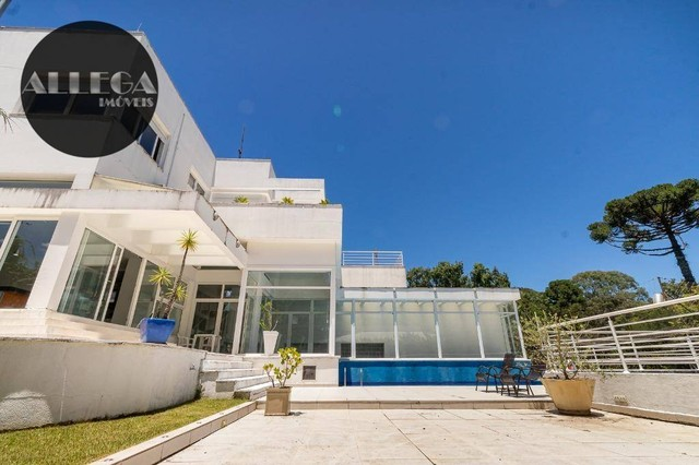 Casa com 5 quartos, 4 suítes, 2 piscinas privativas, à venda, 750 m² por R$ 4.400.000 - Ca - Foto 5