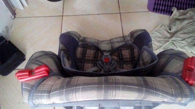 Cadeira para Automóvel Tutti Baby Atlantis  - 9 a 25 Kg - Xadrez Cinza - Foto 2