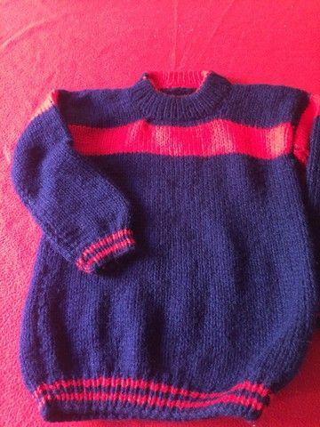 Blusão de lã lindo ! Novo 50 reais  - Foto 3