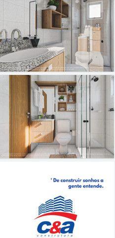 Lançamento aptos de 2 quartos 50m² com sacada e elevador - Foto 2
