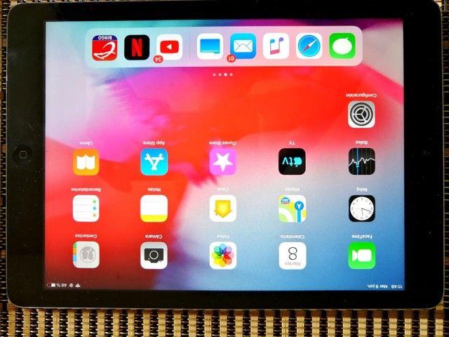 Apple iPad Air 16 gb na cor cinza  Wi-Fi  - Foto 3