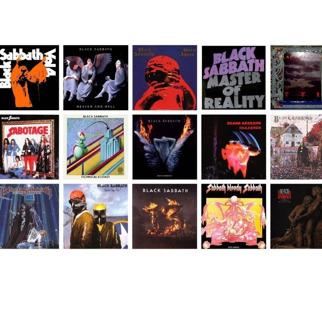 Black Sabbath todas as mu$ic@s p/ouvir no carro, em casa no apto - Foto 3