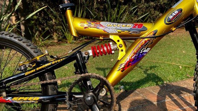 Bicicleta MTB Infantil Kent Hyper 20, Aro 20 - Pouco Usada - Foto 3