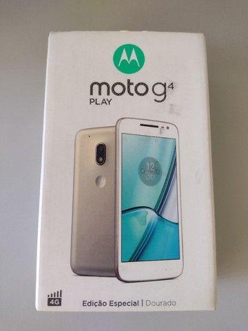 Moto G4 Play Ed. Especial DTV-Branco e Dourado 16GB - Foto 4