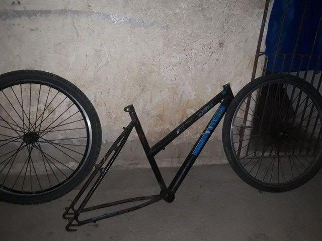 Quadro bicicleta aro 26