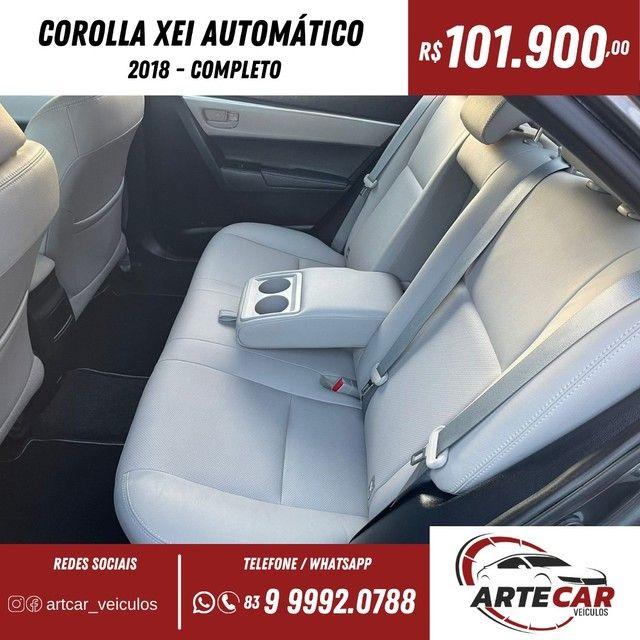Toyota Corolla xei 2018 automático !!40 mil km - Foto 4