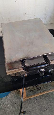 Maquina de fazer crepe Semi nova - Foto 5