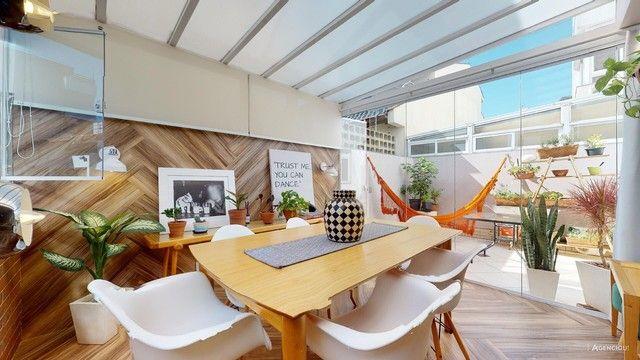 Apartamento de 101m², com 2 dormitórios/quartos, 1 suite com closet, 2 vagas cobertas - Jd - Foto 4