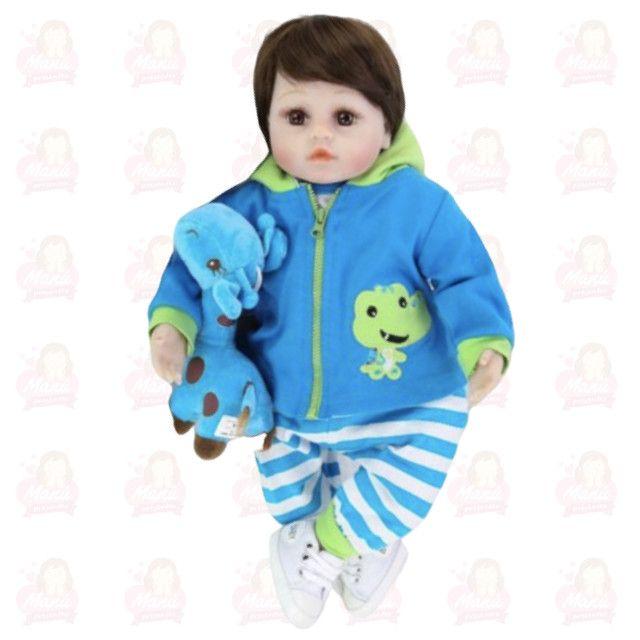 Bebê Reborn menino menininho pronta entrega super fofo - Foto 2