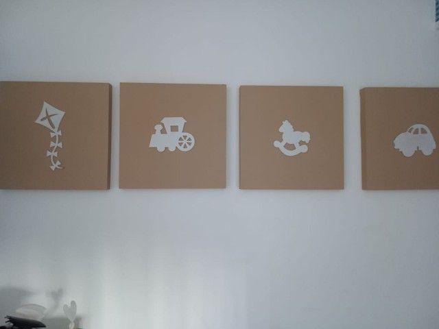 Kit quarto de bebê- menino (8 itens)