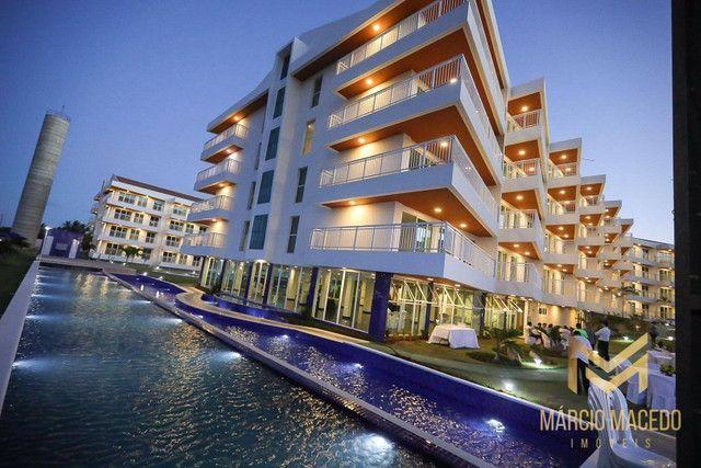 Apartamento com 3 quartos à venda por R$ 460.000 - Porto das Dunas - Aquiraz/CE - Foto 13