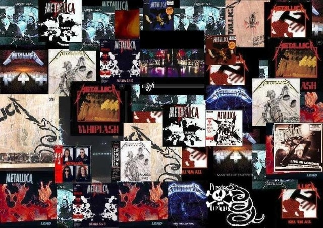Metallica todas as mu$ic@s p/ouvir no carro, em casa no apto - Foto 2