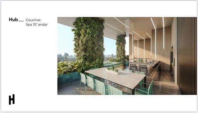 Compacto de luxo, 2 quartos com Varanda Gourmet, Ofurô e Churrasqueira. - Foto 10