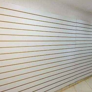 Painel canaletado branco - 180,00 o m2