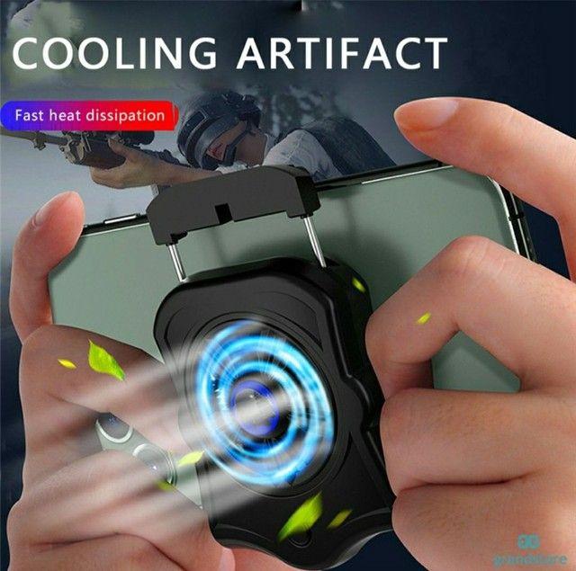 Suporte Para Celular / Cooler Para Ventoinha / Gamepad / Jogos / Shooter Mudo / Radiador