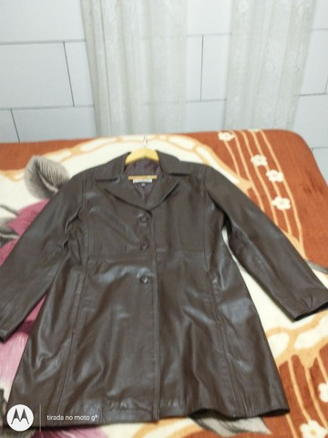 Jaqueta de couro original feminino