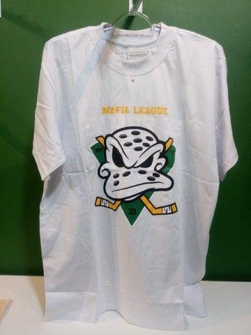 Camisas Super Patos Ducks NHL Masculina - Foto 4