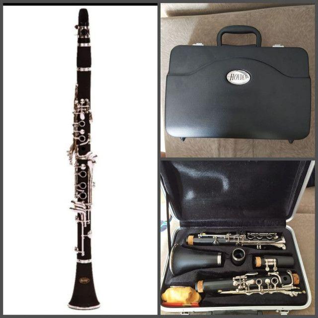 Vendo clarinete Royden seminovo R$ 900,00 - Foto 3