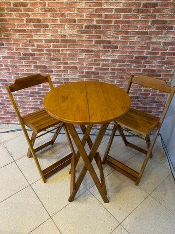 Mesa Bistrô c\2 cadeiras altas - Foto 3