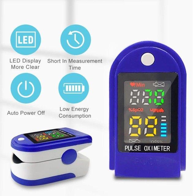 Termômetro digital ELERA sem contato para uso adulto/infantil + oxímetro - Foto 5