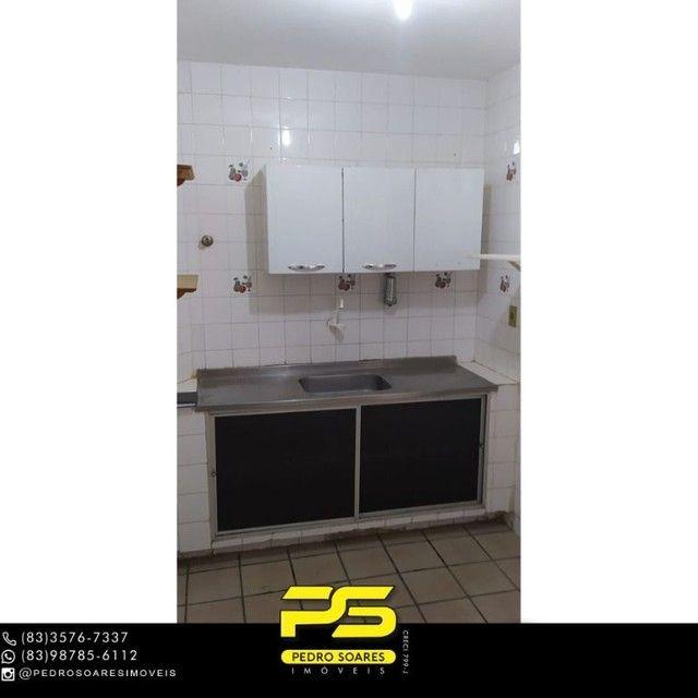 Apartamento com 3 dormitórios à venda, 103 m² por R$ 200.000 - Brisamar - João Pessoa/Para - Foto 4