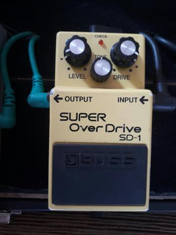Pedal over drive