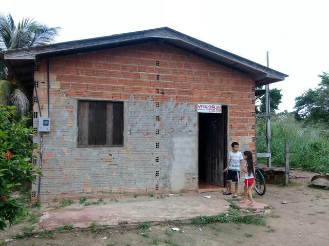 Vendo até parcelado casa na ilha de santana