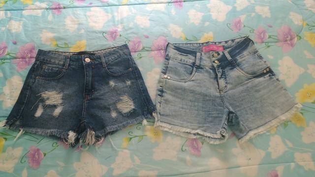 Shorts 36 $20,00 os dois!!