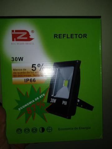 Refletor led 30 watts 60$ novo
